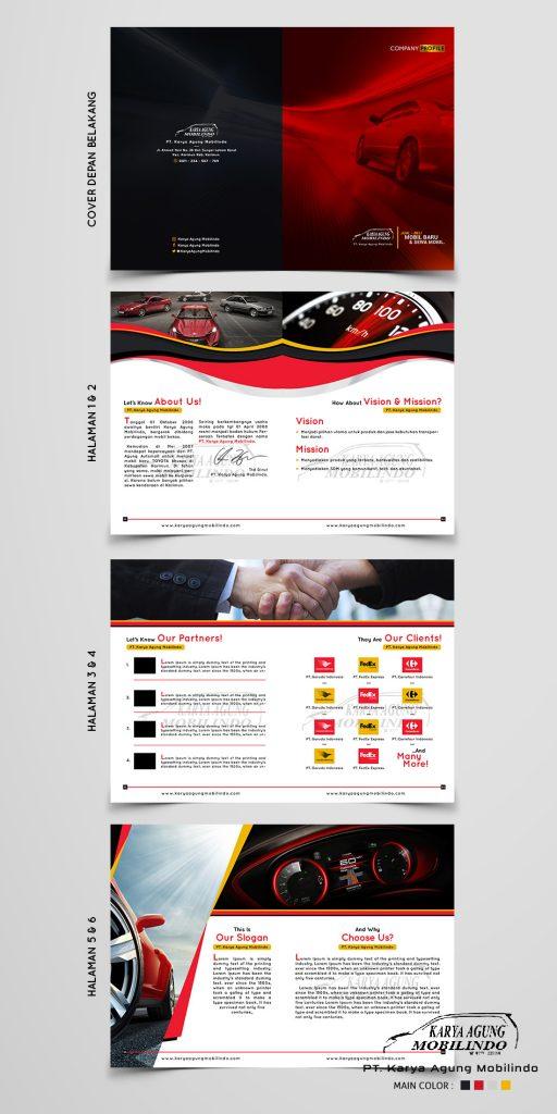 contoh company profile UKM