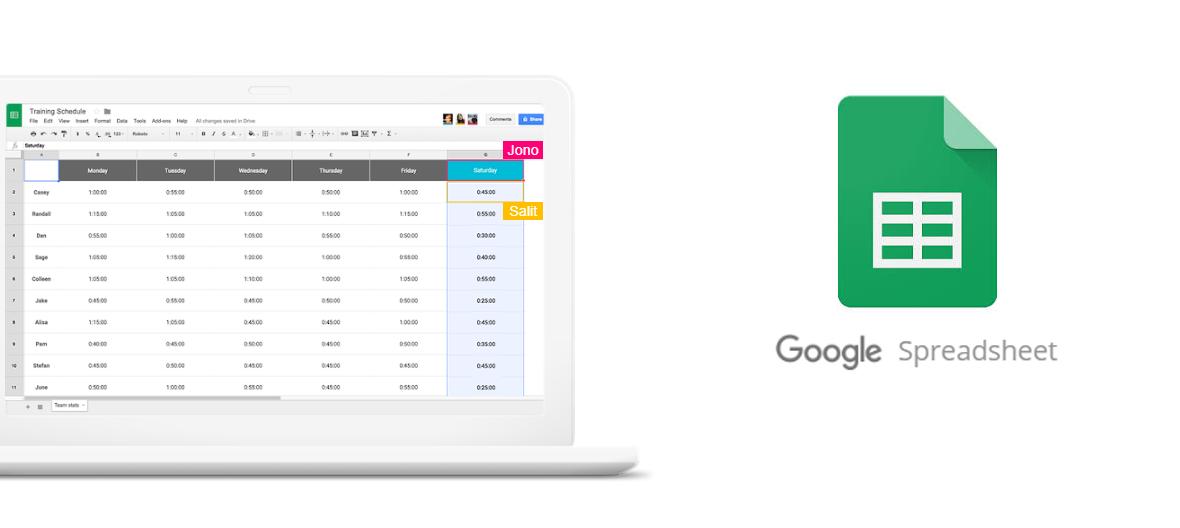 cara membuat excel online dengan google