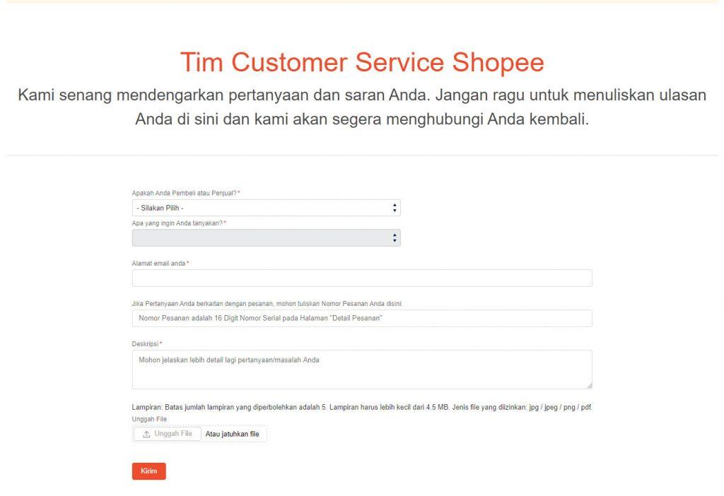 Call Center Customer Service Shopee Terbaru 2021 Nekopencil