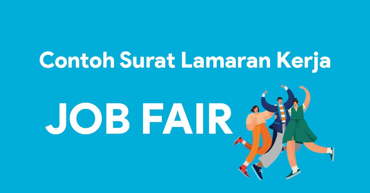 Contoh Surat Lamaran Kerja Untuk Job Fair Bursa Kerja Nekopencil