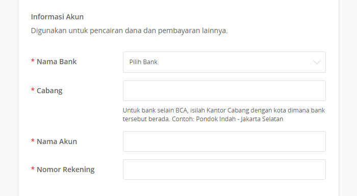informasi official store tokopedia