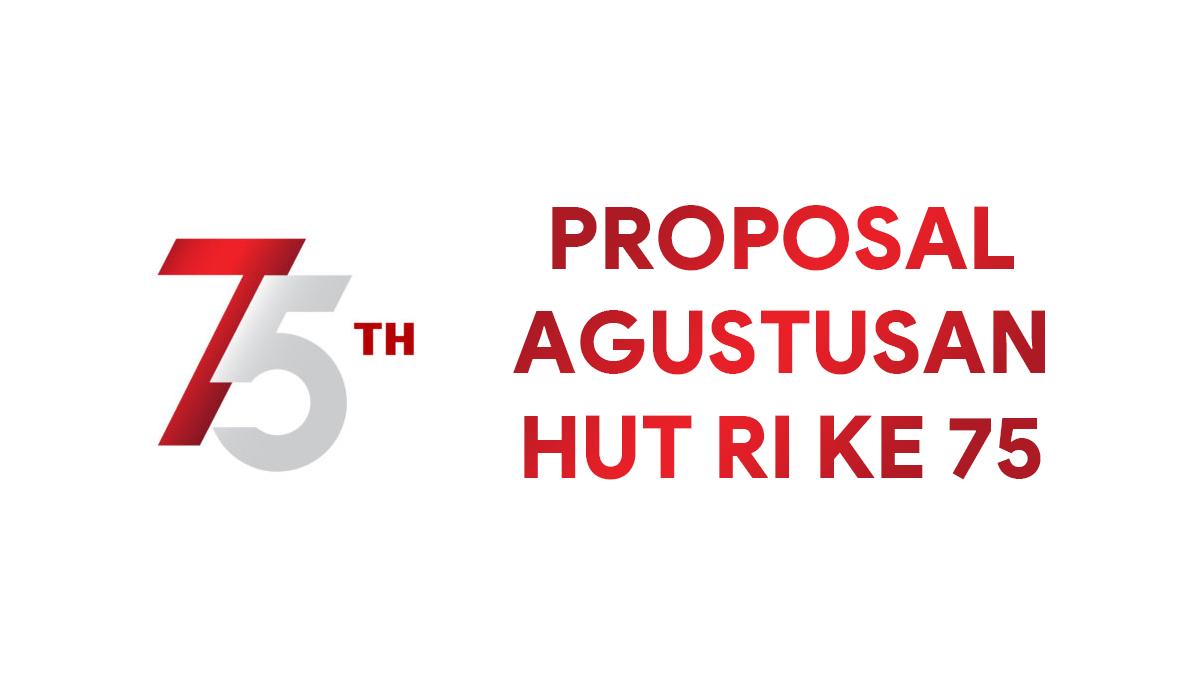 Contoh Proposal Kegiatan Peringatan Hari Kemerdekaan 17 Agustus 2021 Nekopencil
