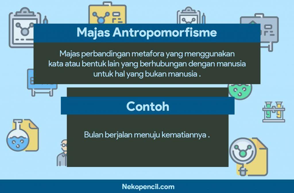 contoh majas antropomorfisme