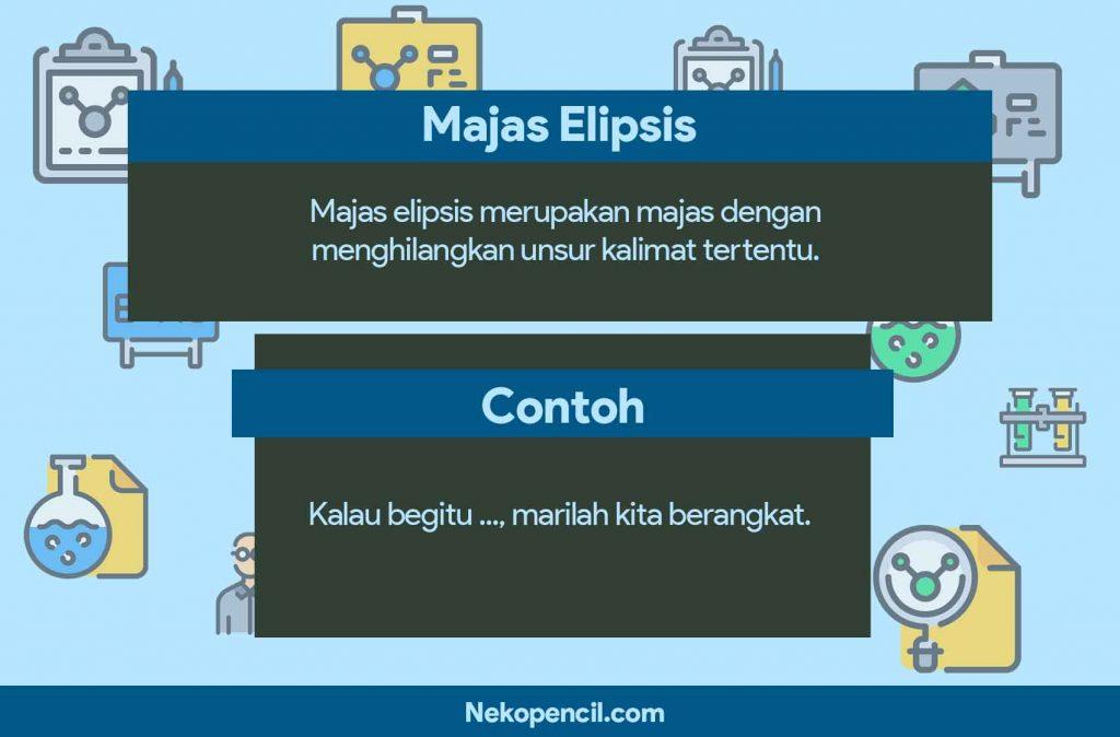 contoh majas elipsis