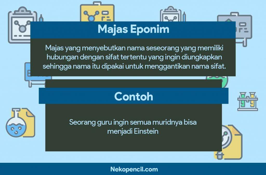 contoh majas eponim