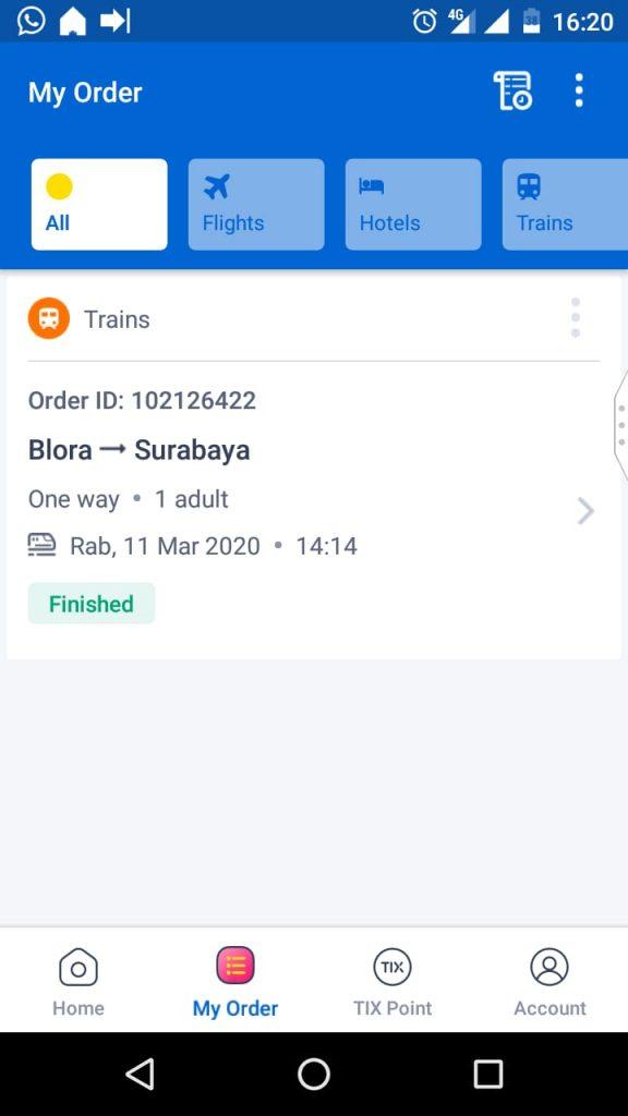 My Order Tiket.com