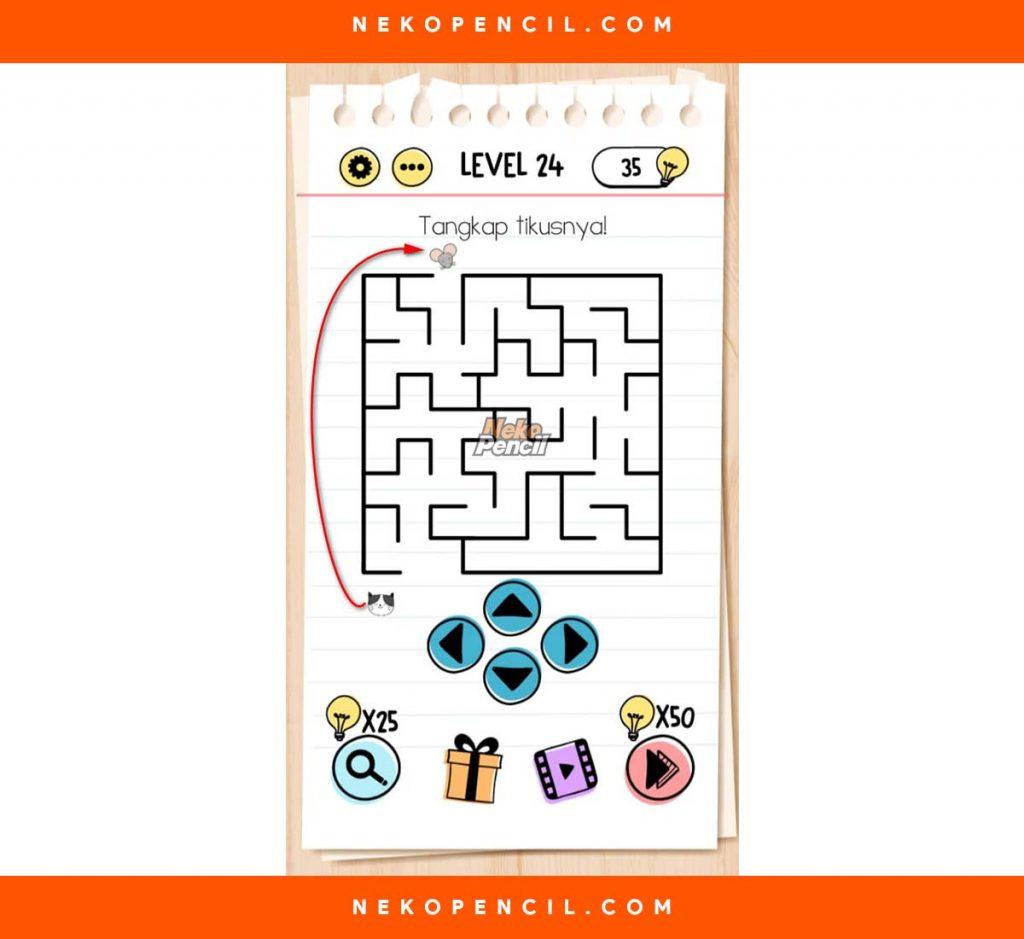 Kunci Jawaban Brain Test Level 1 281 Terbaru Nekopencil