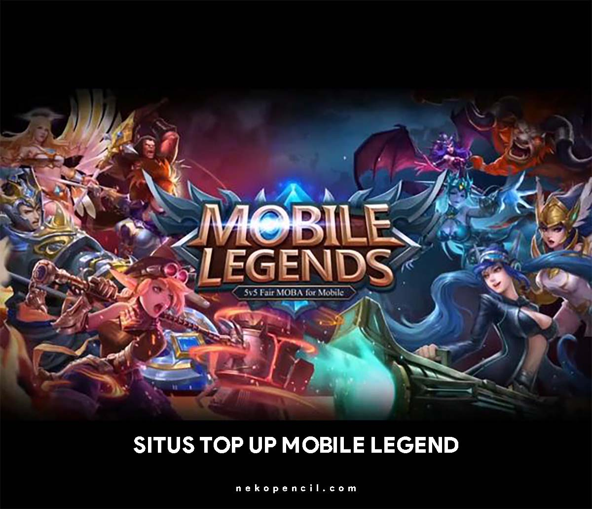 5 Situs Top Up Diamonds Mobile Legends Aman Dan Terpercaya