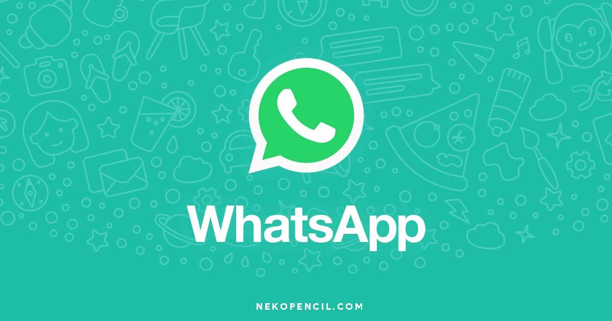 Cara Menggunakan Whatsapp Web Di Komputer Nekopencil
