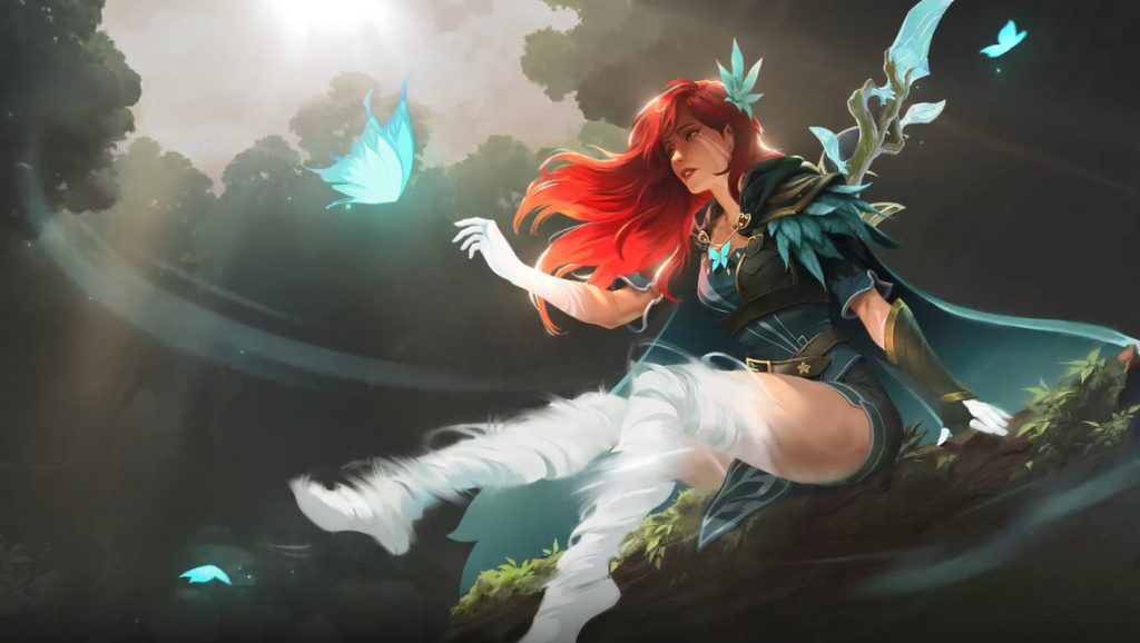 wallpaper windranger arcana