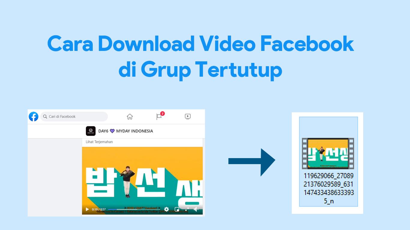 Cara Download Video Facebook Di Grup Tertutup Private Nekopencil