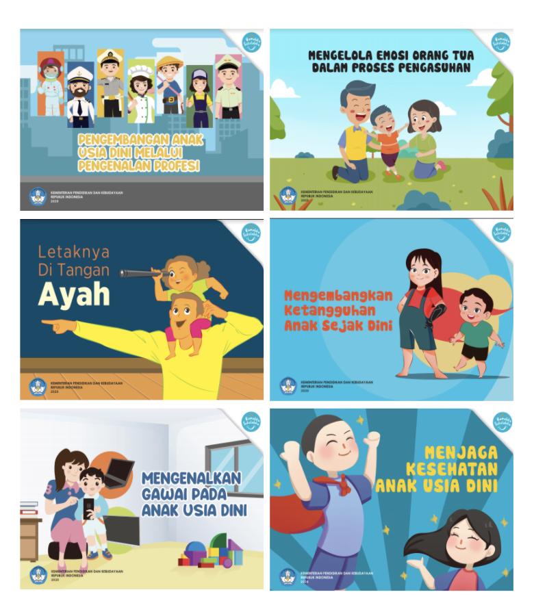 Modul Buku Saku Orang Tua PAUD Belajar Dari Rumah
