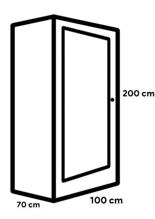 lemari berbentuk balok