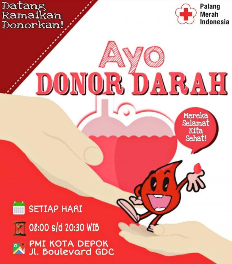 poster kegiatan donor darah
